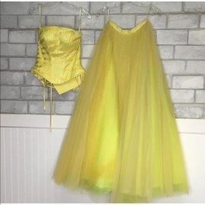 Disney belle vibe pageant dress Sz4